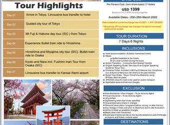 7 DAYS IN JAPAN DURING CHERRY BLOSSOM 2020