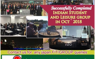 INDIAN STUDENT GROUP AND LEISURE GROUP OCT'2018