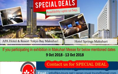 Special Deal – 09Oct to 13Oct ( Availability upto 10th Sep'2018 )